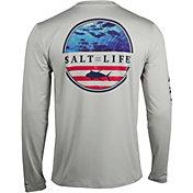 Salt Life Men's Respect Long Sleeve Performance Shirt
