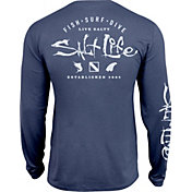 3588e59c98ba Product Image · Salt Life Men's Watermans Trifecta Performance Long Sleeve  Shirt