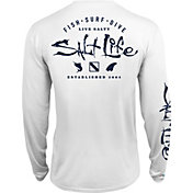 Salt Life Men's Watermans Trifecta Performance Long Sleeve Shirt