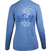 Salt Life Women's Signature Pineapple Long Sleeve UPF Shirt