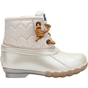 Sperry Kids' Saltwater Quilted Jr. Waterproof Duck Boots
