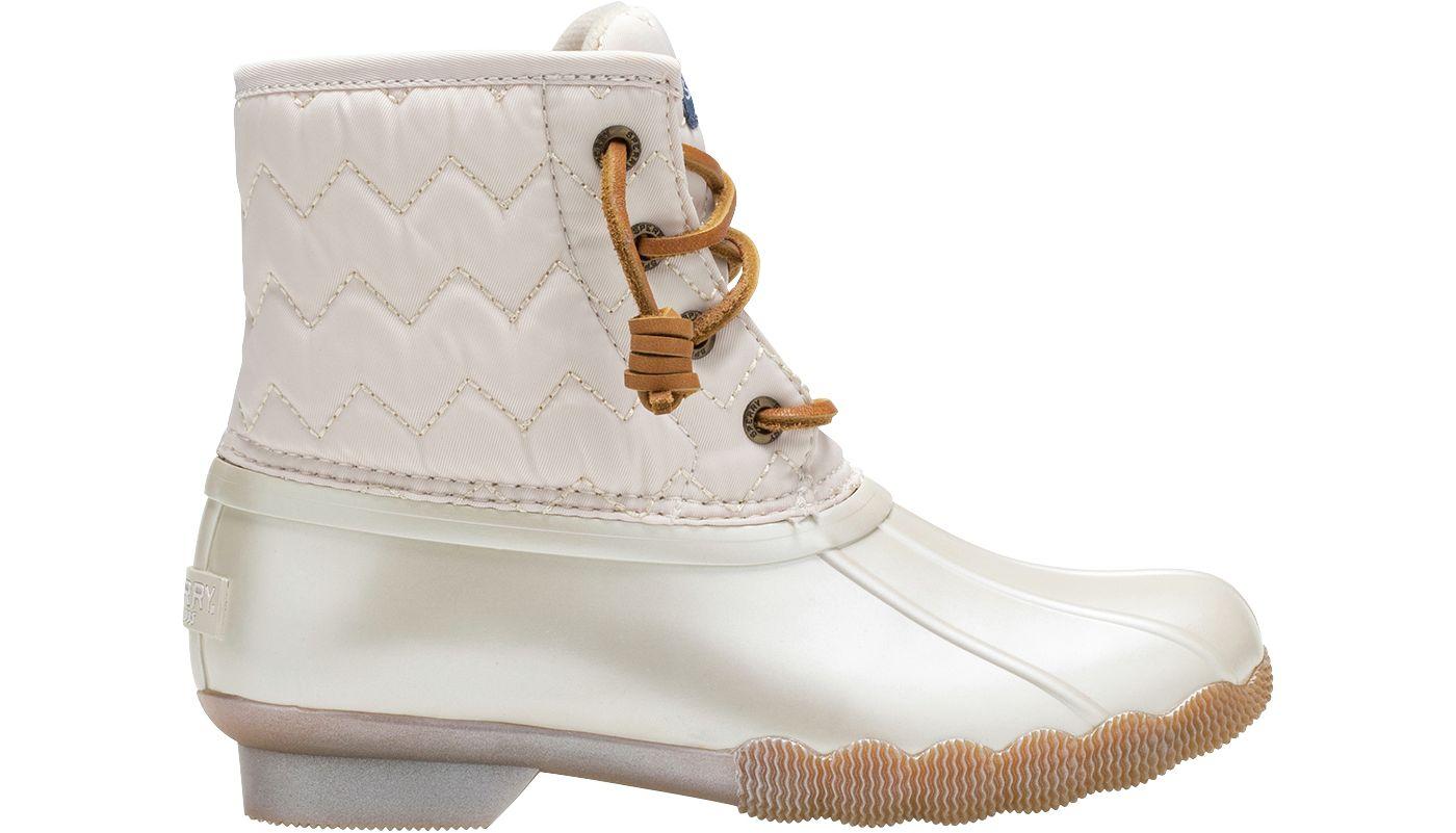 Sperry Kids' Saltwater Quilted Waterproof Winter Boots