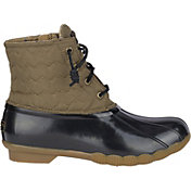 Sperry Women's Saltwater Quilted Waterproof Duck Boots