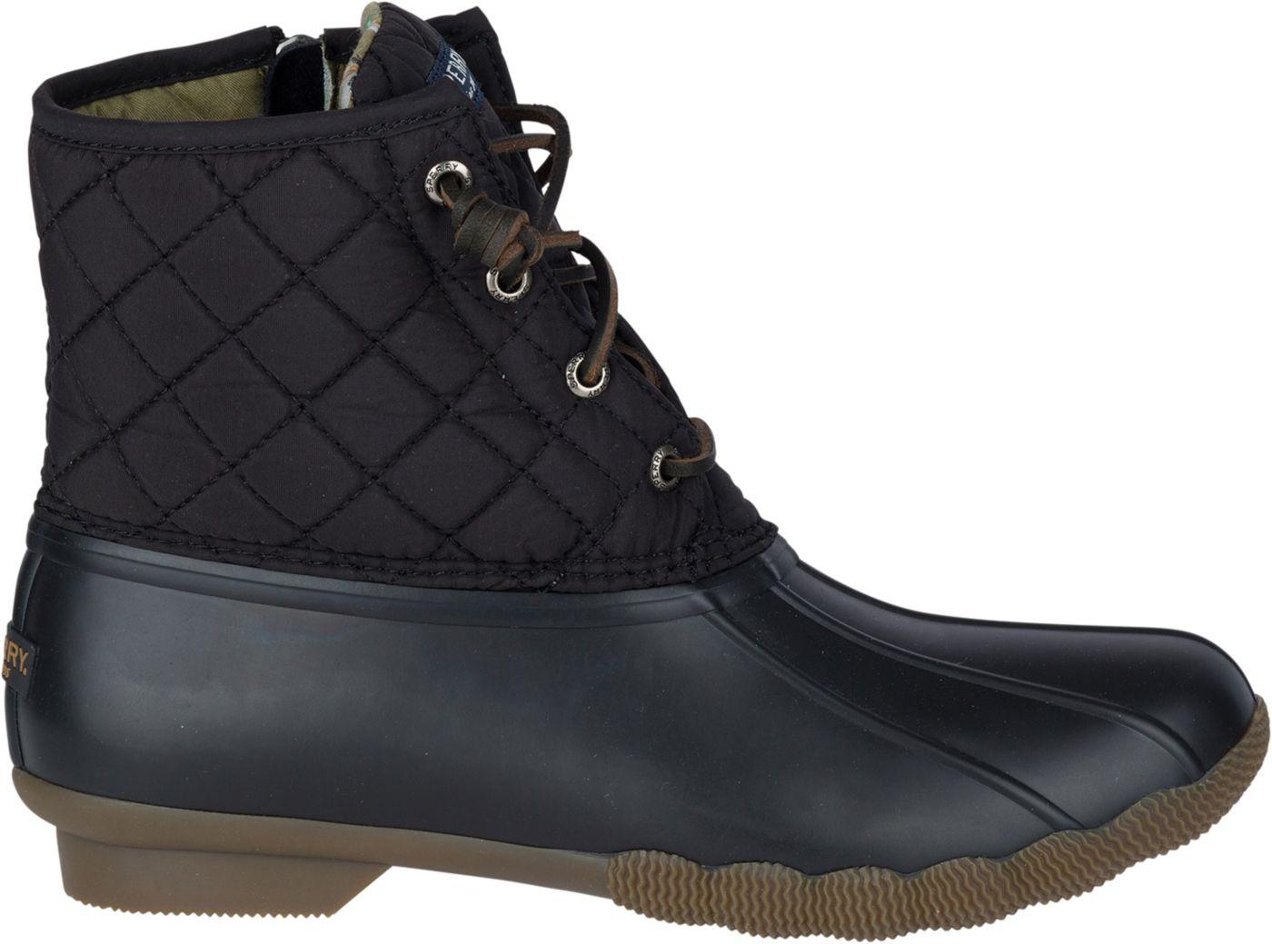 Sperry Women's Saltwater Quilted Waterproof Winter Boots
