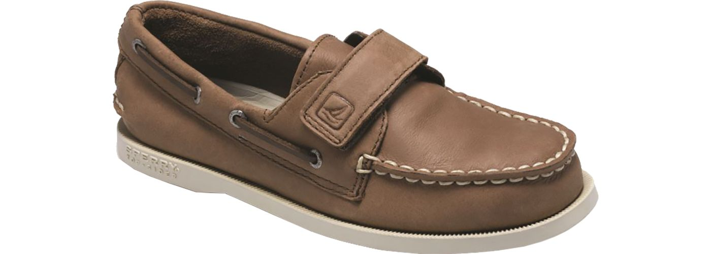 Sperry Kids' Authentic Original Hook-and-Loop Boat Shoes