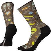 Smartwool Hike Light Hut Trip Print Crew Socks