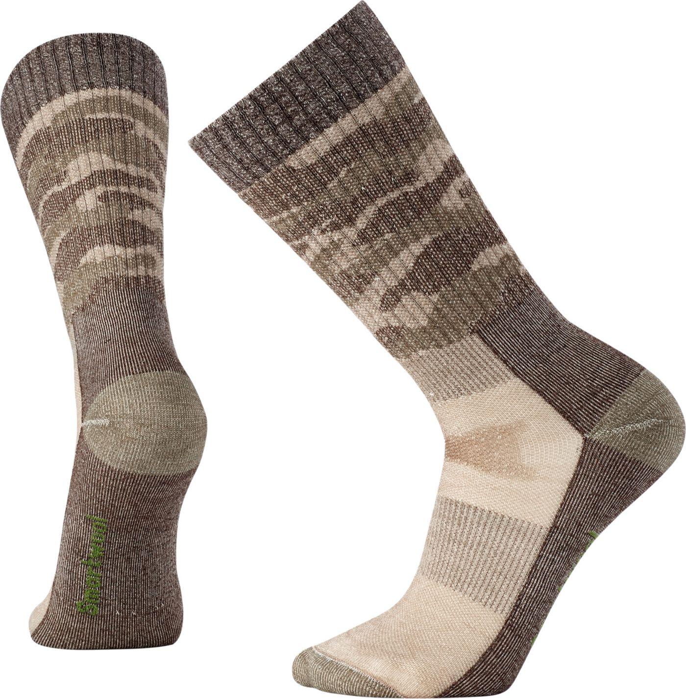 Smartwool Hunt Medium Camo Crew Socks