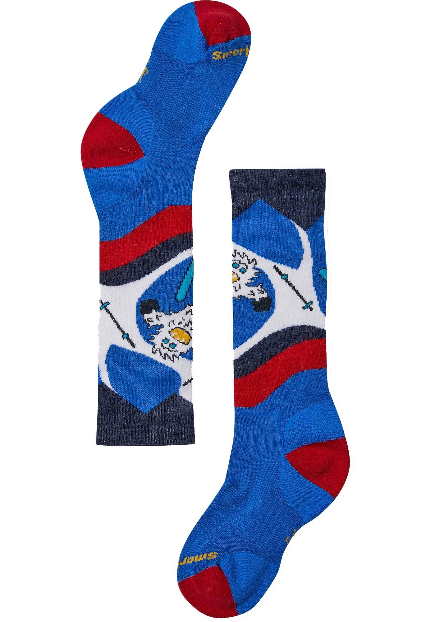 Smartwool Youth Wintersport Yo Yetti Over-the-Calf Socks