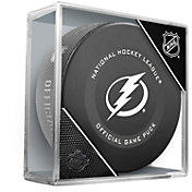 Sher-Wood Tampa Bay Lightning Autograph Puck