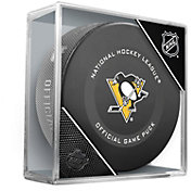 Sher-Wood Pittsburgh Penguins Autograph Puck