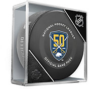 Sher-Wood Buffalo Sabres Autograph Puck