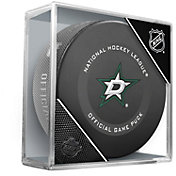 Sher-Wood Dallas Stars Autograph Puck