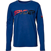 Spyder Boys' Graphic Long Sleeve T-Shirt