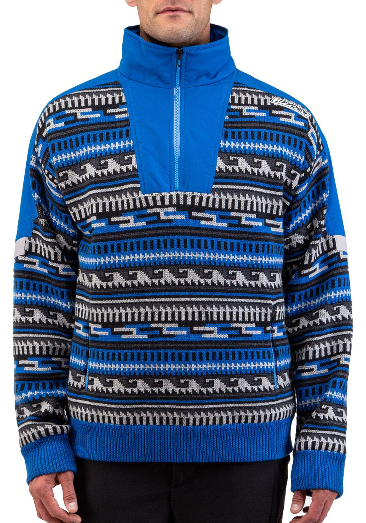 Spyder Men's Legacy GTX INFINIUM Lined Half Zip Sweater