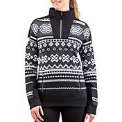 Spyder Women's Legacy GTX Half Zip Pullover Sweatshirt