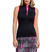 Tail Women's Elliot Mock Neck Golf Top