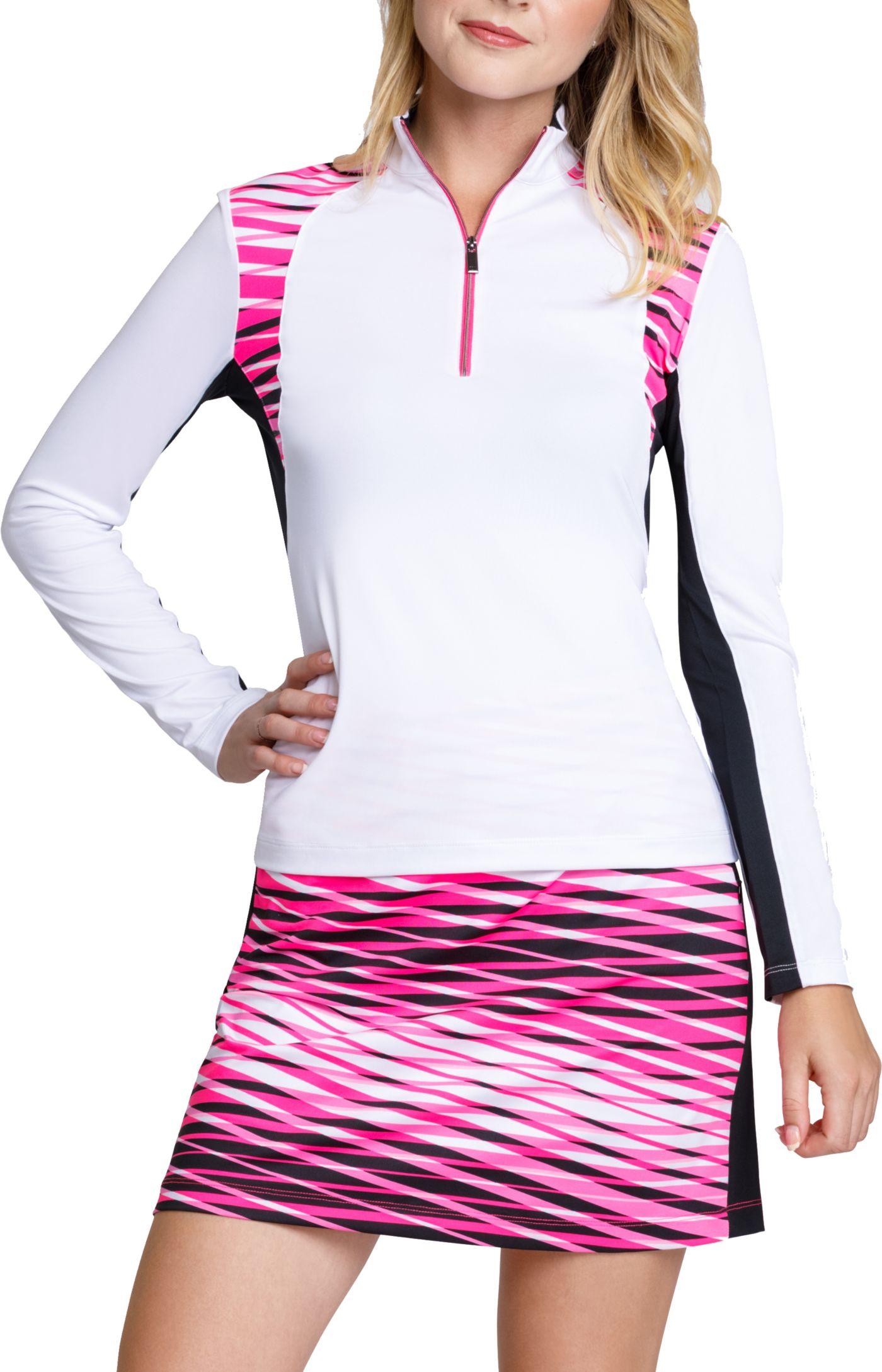 Tail Women's Long Sleeve Mock Neck Golf Top