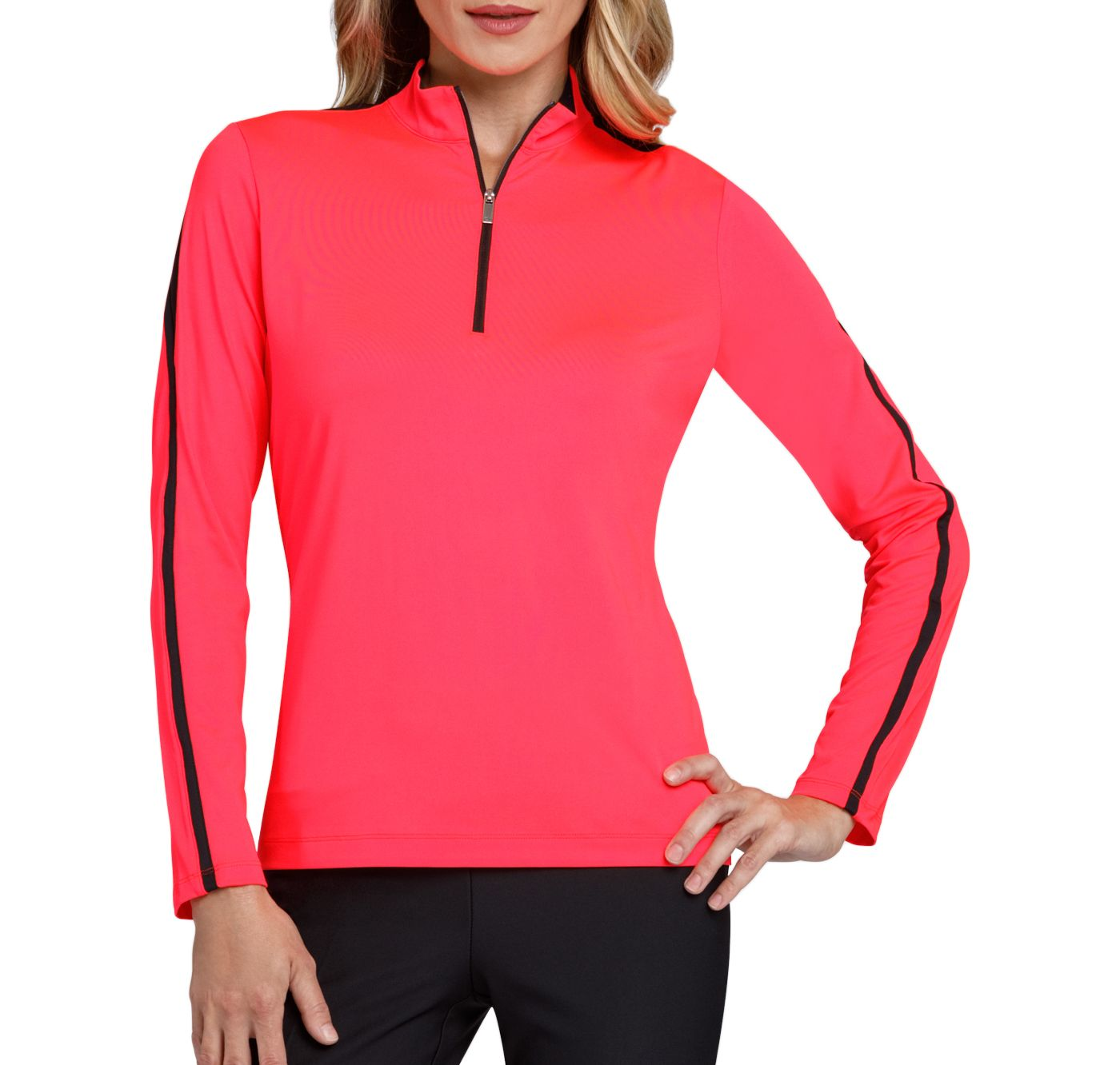 Tail Women's Long Sleeve Mock Neck Golf Top