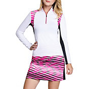 Tail Women's Long Sleeve Mock Neck Golf Top – Plus Size