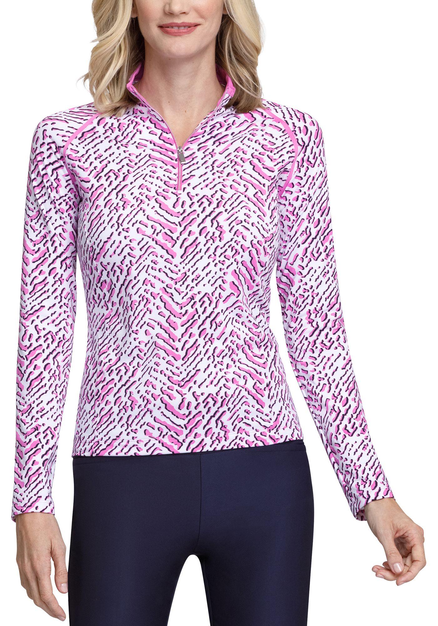 Tail Women's Mini Mock Long Sleeve Golf Pullover