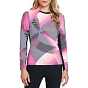 Tail Women's Nathalie Long Sleeve Golf Top
