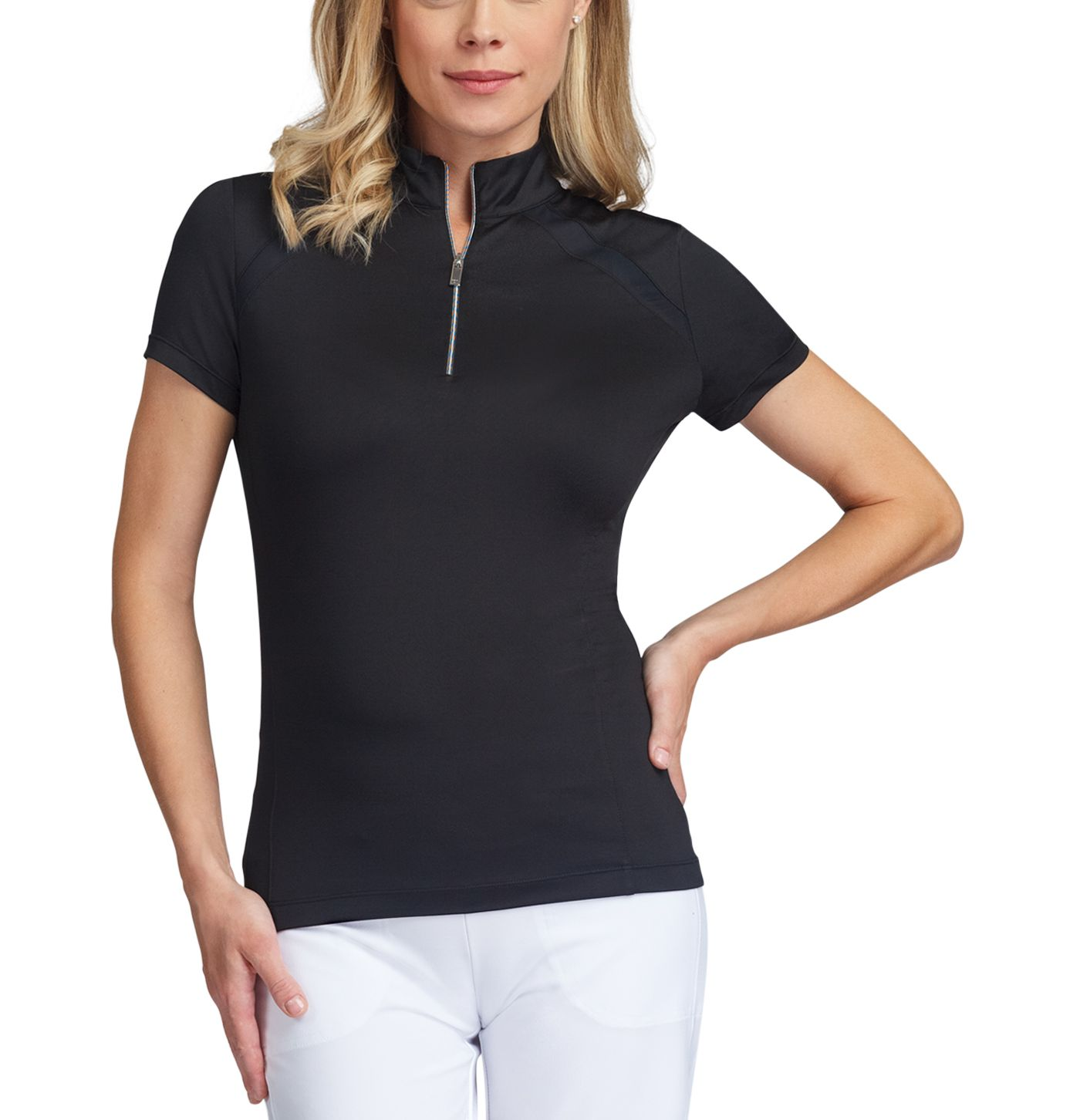 Tail Women's ¼-Zip Mock Neck Golf Top - Extended Sizes