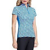 Tail Women's Mock Neck ¼ Zip Golf Top