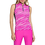 Tail Women's Flori Jagged Sleeveless Golf Polo