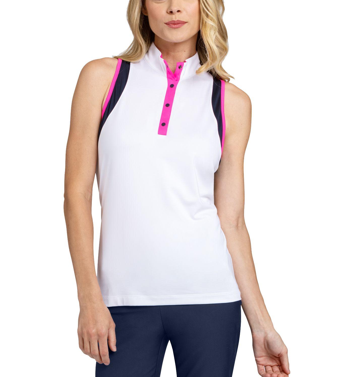 Tail Women's Sleeveless Convertible Collar Racer Back Golf Top