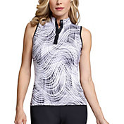Tail Women's Sleeveless Mock Neck Golf Top