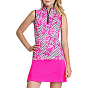 Tail Women's Sleeveless ¼ Zip Golf Top  – Plus Size