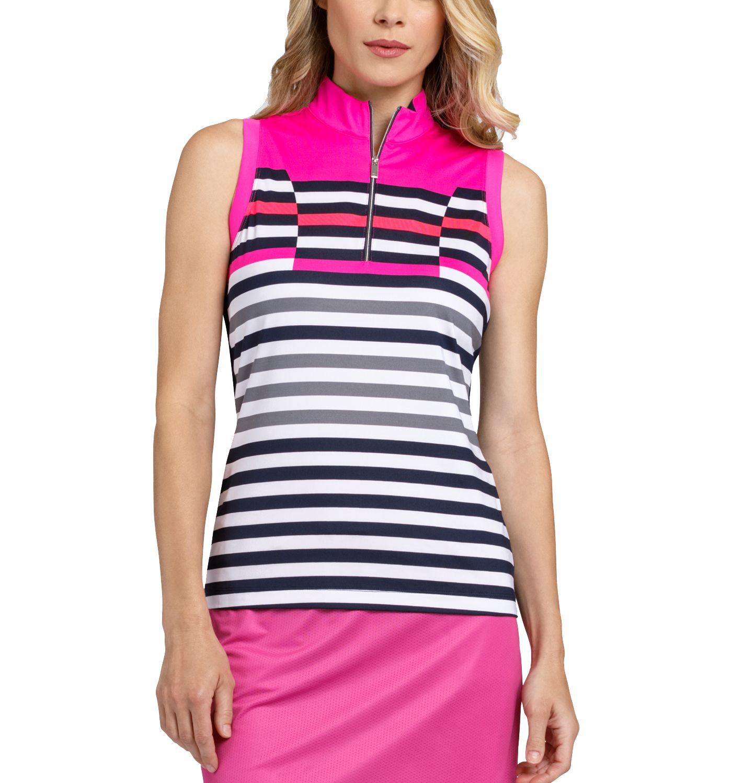 Tail Women's Sleeveless ¼ Zip Racerback Golf Top