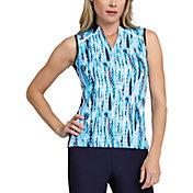 Tail Women's Modified Collar Sleeveless Golf Polo
