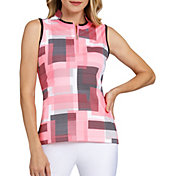 Tail Women's Sleeveless Novelty Collar Golf Polo – Extended Sizes
