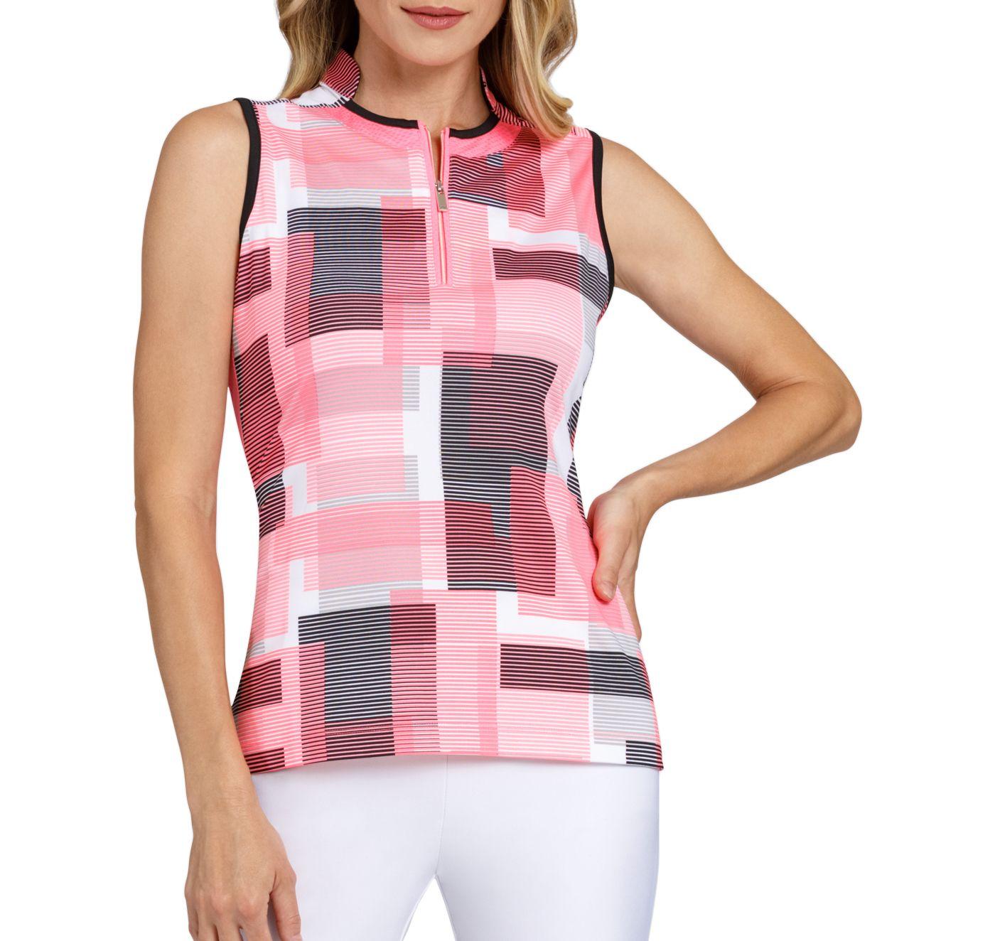 Tail Women's Sleeveless Novelty Collar Golf Polo – Extended Sizes