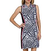 Tail Women's Gingham Sleeveless Golf Dress