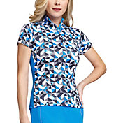 Tail Women's Mock Neck Golf Top