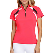 Tail Women's Short Sleeve Mock Neck Golf Polo