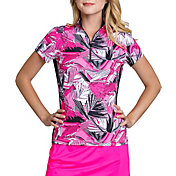Tail Women's Short Sleeve ¼ Zip Golf Top – Plus Size