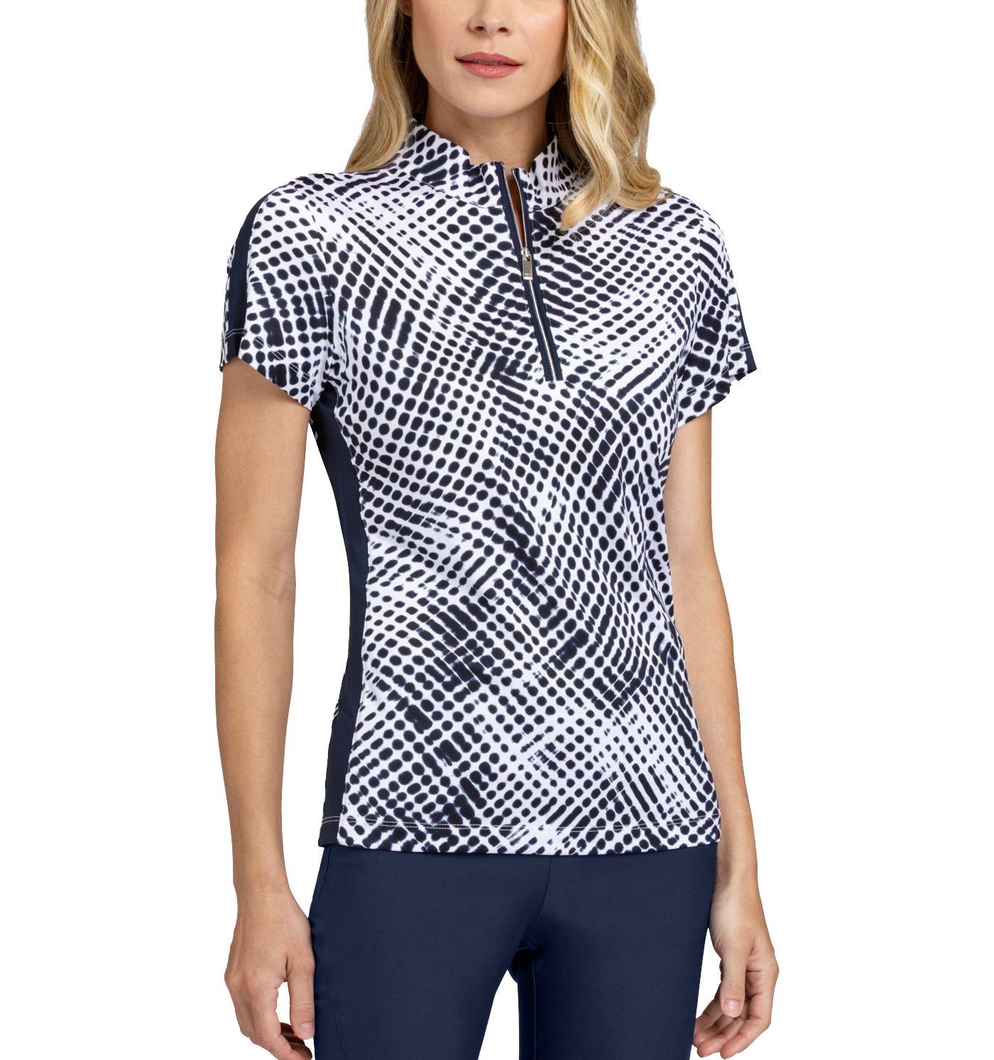 Tail Women's Short Sleeve ¼ Zip Mock Neck Golf Top