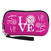Tandem Volleyball Clutch Pouch