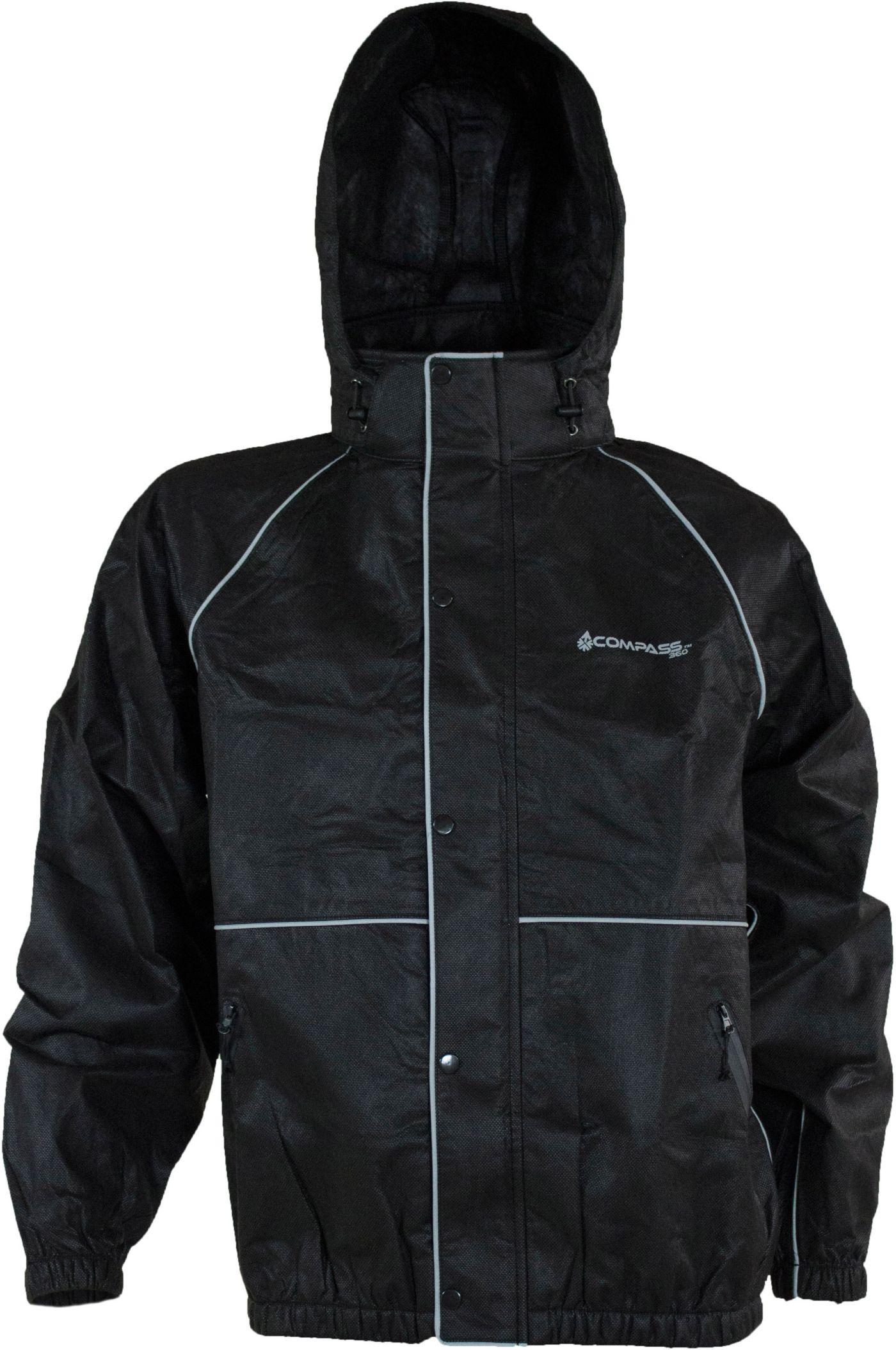 Compass 360 ROADTEK Reflective Waterproof Breathable Rain Jacket