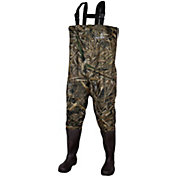 Compass 360 WINDWARD Camo PVC Bootfoot Chest Waders