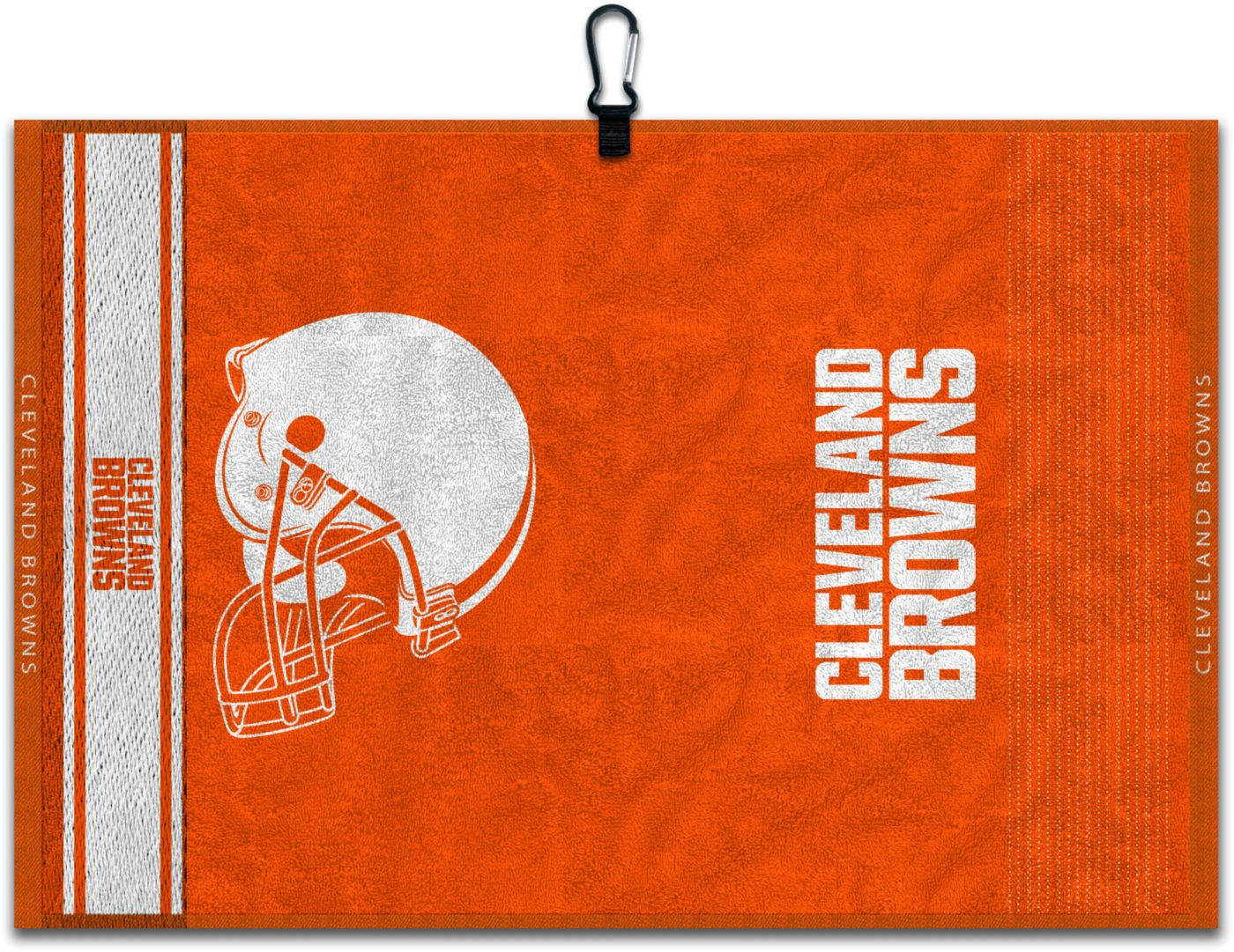Team Effort Cleveland Browns Embroidered Face-Club Golf Towel