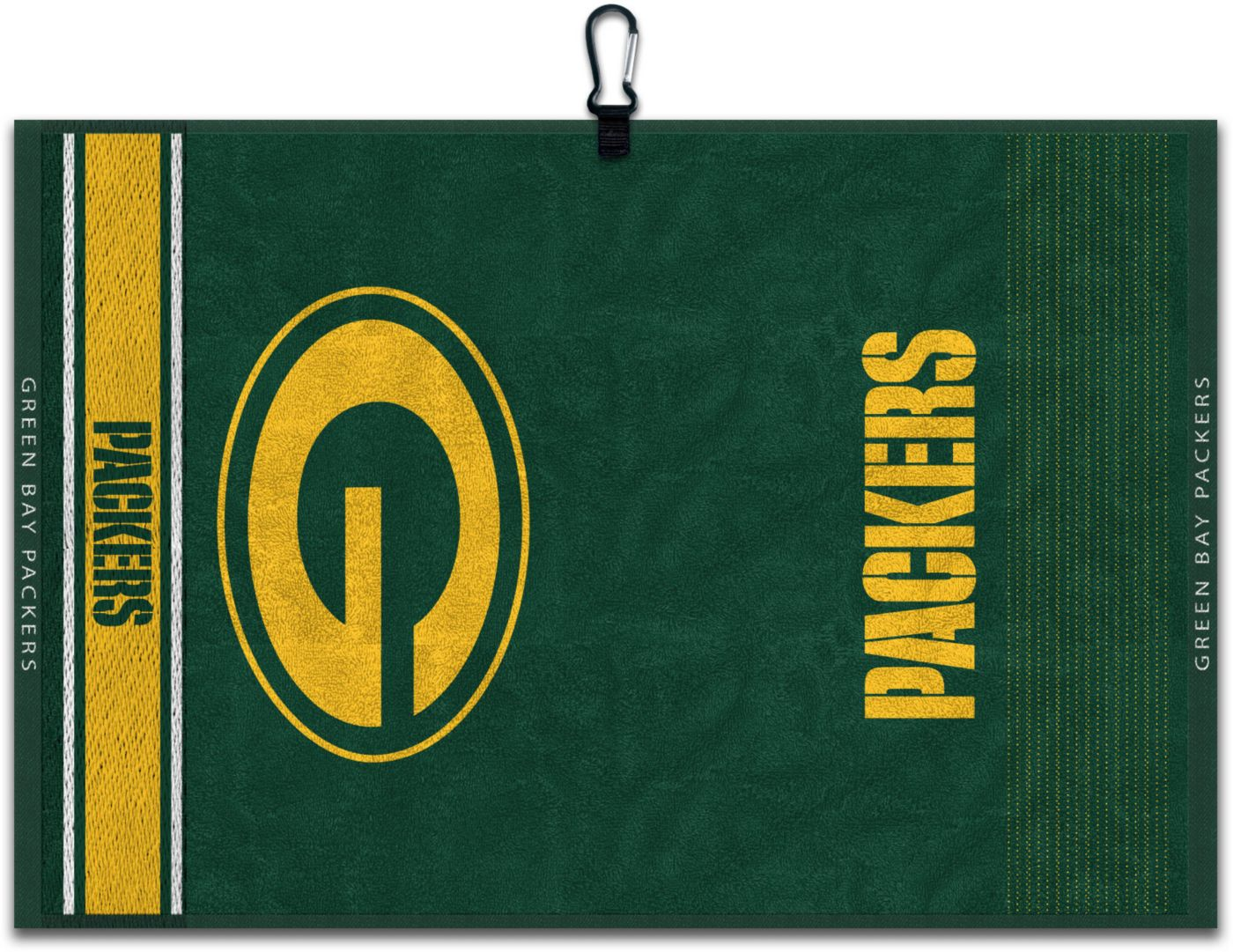 Team Effort Green Bay Packers Embroidered Face-Club Golf Towel