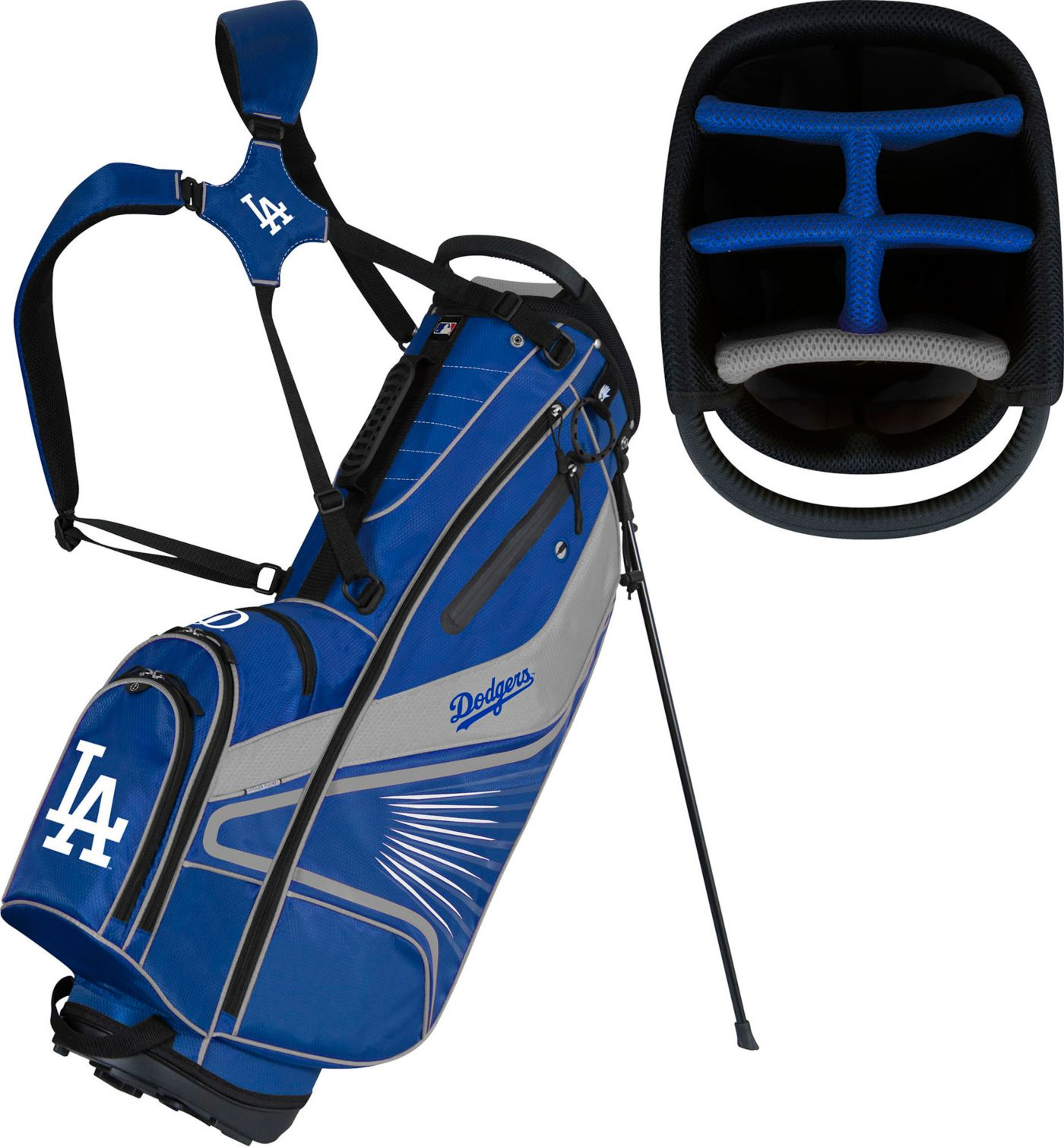Team Effort Los Angeles Dodgers Caddy Stand Golf Bag
