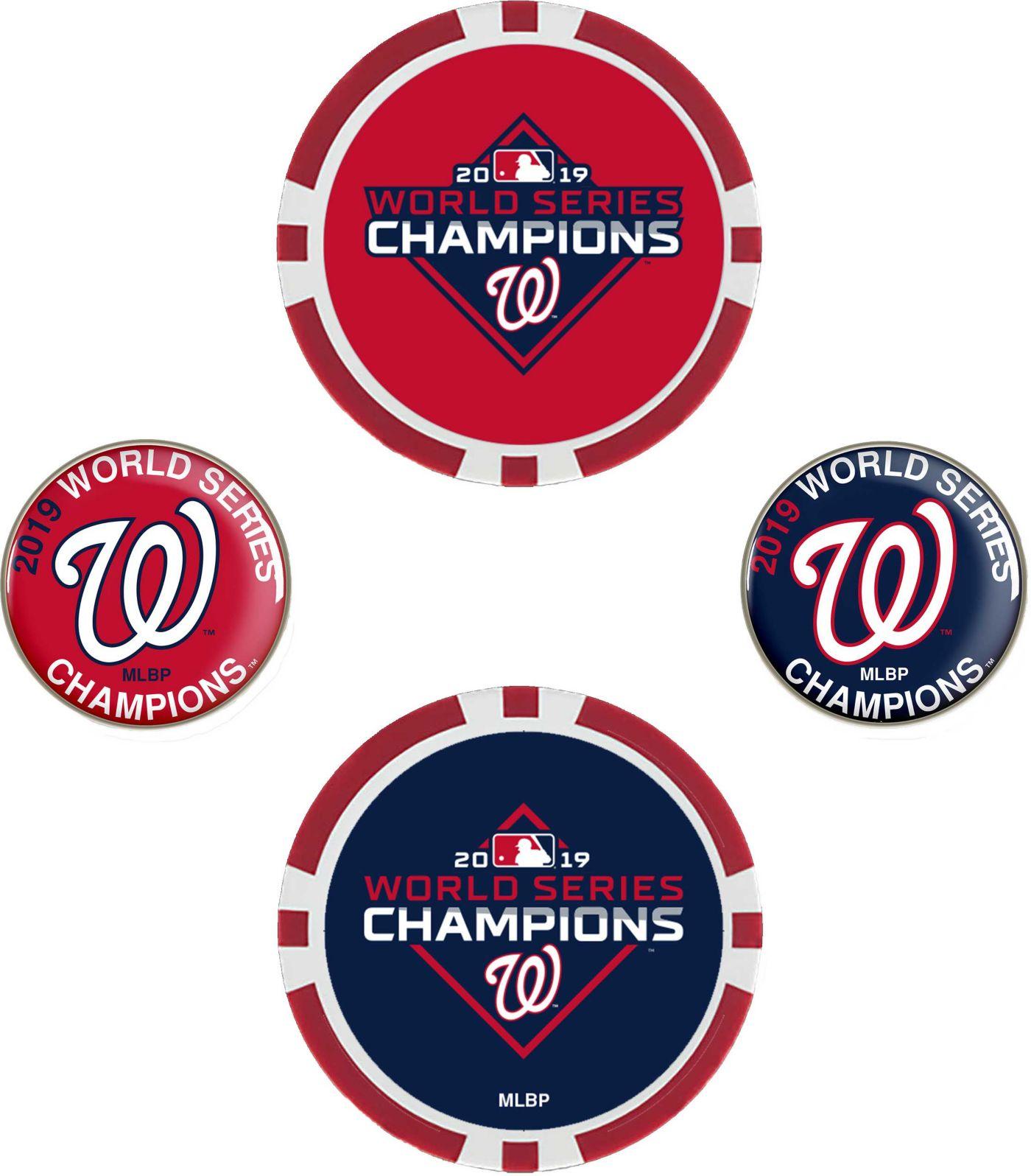 Team Effort 2019 World Series Champions Washington Nationals Ball Marker Set