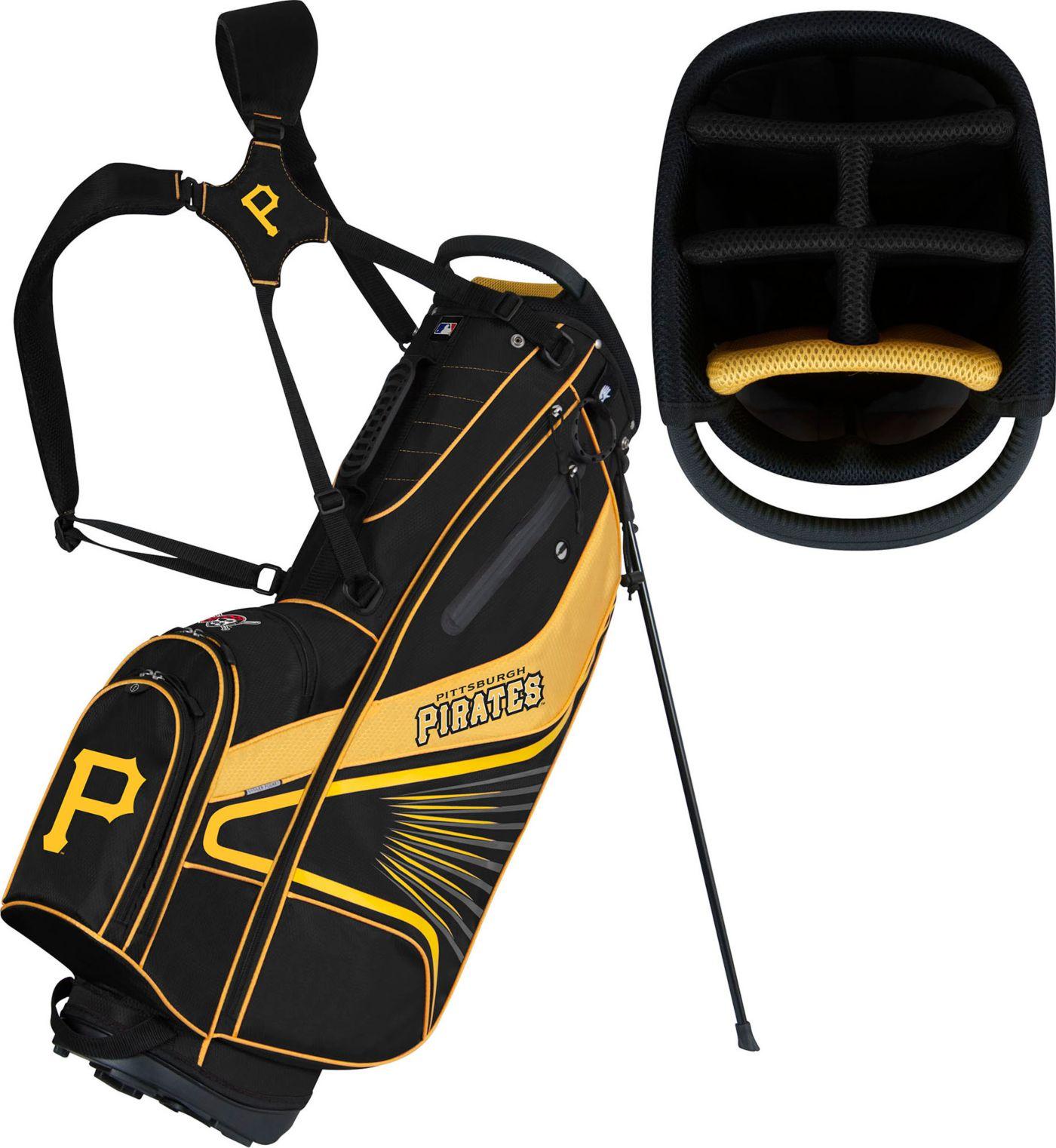 Team Effort Pittsburgh Pirates Caddy Stand Golf Bag