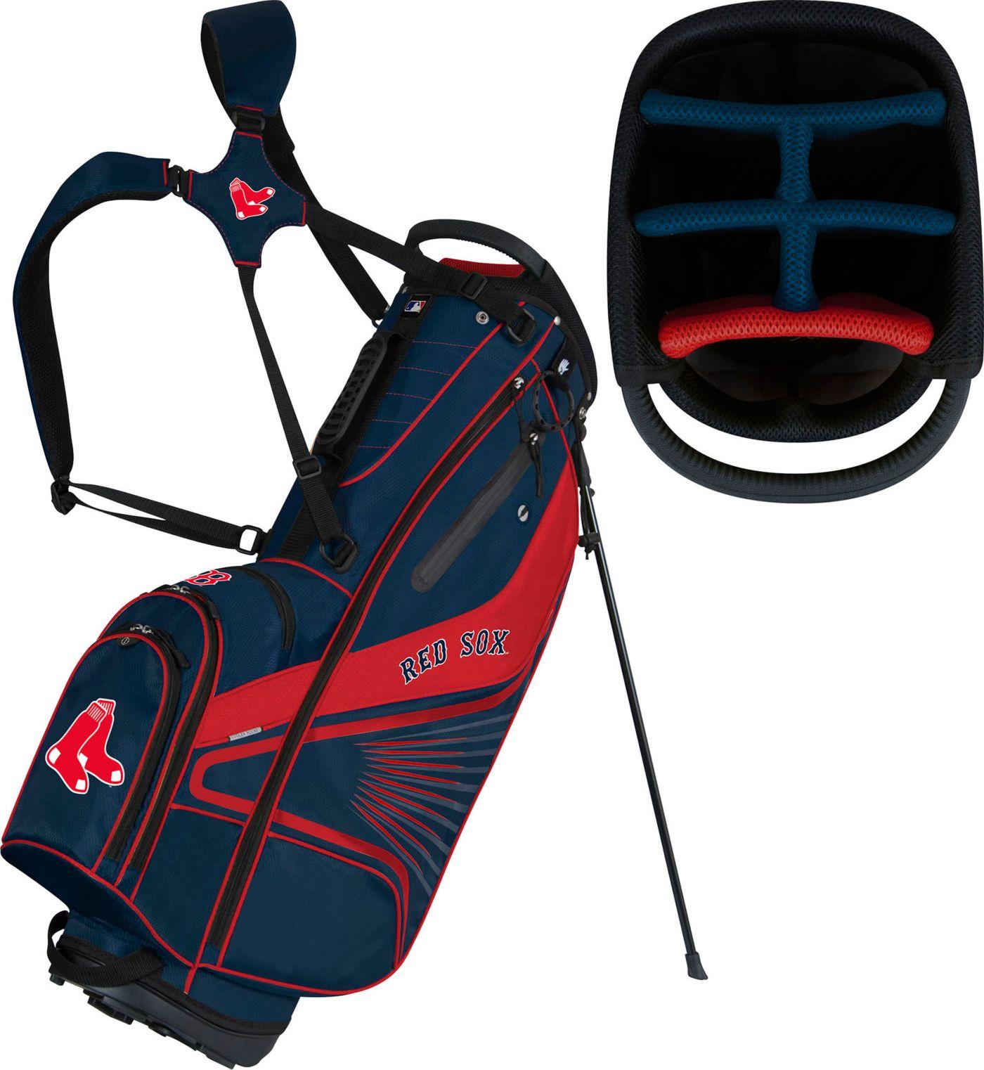 Team Effort Boston Red Sox Caddy Stand Golf Bag