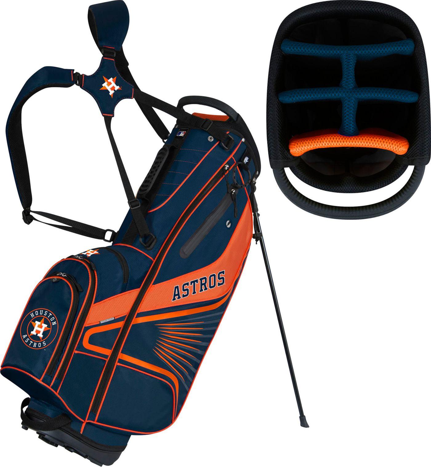 Team Effort Houston Astros Caddy Stand Golf Bag